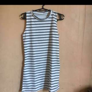 Dress with short