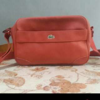 Authentic Preloved Lacoste Sling Bag