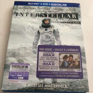 interstellar blu ray