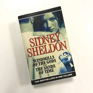 2 in 1 fiction novel: Windmills of the Gods, The Sands of Time (Sidney Sheldon)