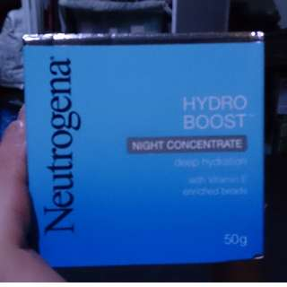 Neutrogena hydro boost night concentrate 50ml