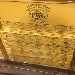 40種 TWG TEA 茶包 下午茶 專櫃品牌 米其林餐廳指點牌子