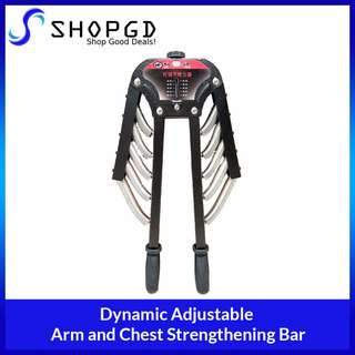 🔥🔥🔥 SHOPDGD - Dynamic Adjustable Arm Strengthening Bar 20KG-60KG, Chest and Arm Muscle Power Twister Bar Home Gym