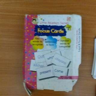 Focus cards level 5