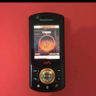 Sony Ericsson W900i Walkman phone
