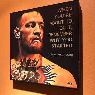 Conor McGregor : Pop Art Poster Frame