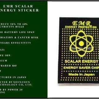 SCALAR ENERGY STICKER