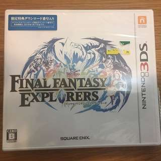 3DS Final Fantasy Explorers