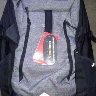 north face and underarmour bag