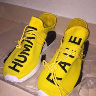 NMD Human Race yellow Adidas UA