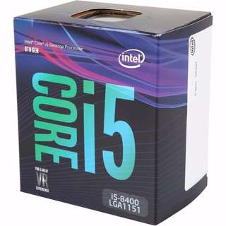 Intel i5-8400 Coffee Lake 6-Core 2.8 GHz LGA 1151
