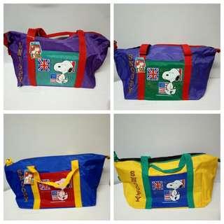 罕有Snoopy 旅行袋 (4色)