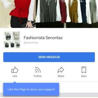 Fashionista Senoritaz 《 Facebook