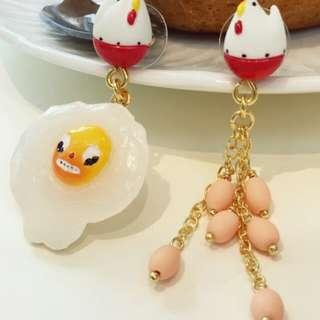 限時優惠價 450 N2雞蛋耳環