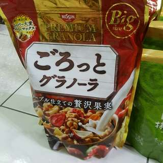 日本帶回 日清麥片 500g 200g 草莓 抹茶 大豆 水果