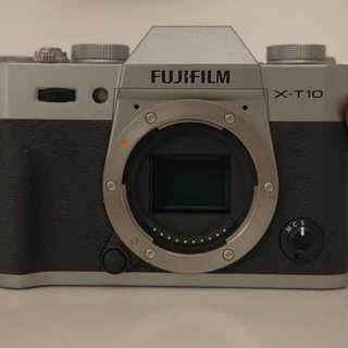Fujifilm XT-10 Silver