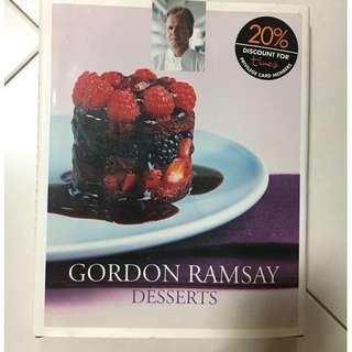 Gordon Ramsay Desserts Book
