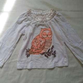 Cherokee Long Sleeve Blouse