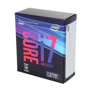 Intel Core i7-8700K Coffee Lake 6-Core 3.7 GHz LGA 1151