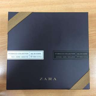 Zara Tobacco Edition (2 Bottle Masih Segel)