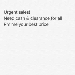 Need cash urgently