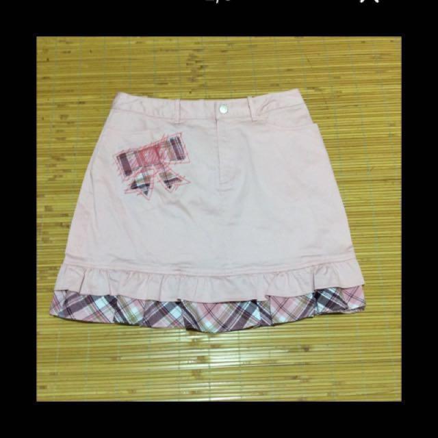 可愛短裙兩件#十月免購直接送