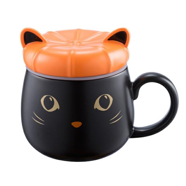 星巴克  2017  萬聖變裝貓馬克杯