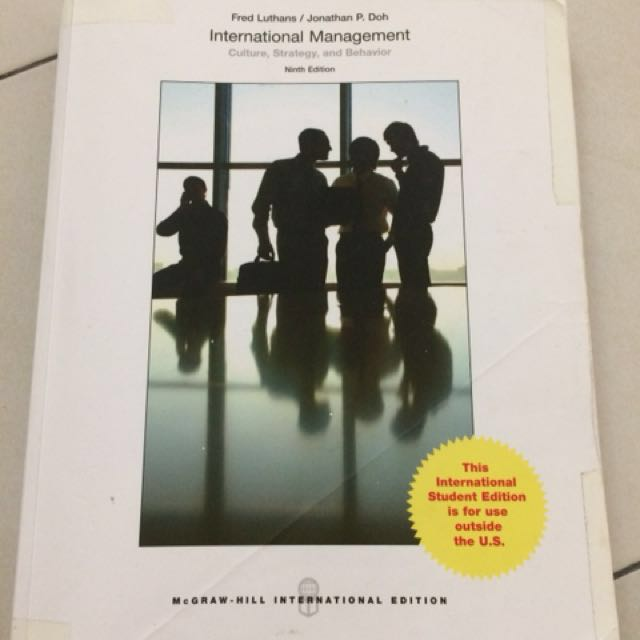 💕 International Management Culture, Strategy and Behaviour