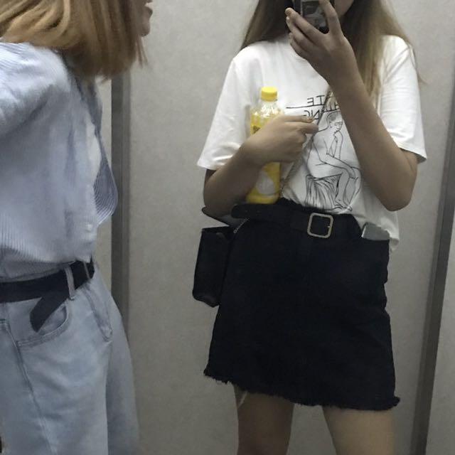 AA牛仔裙