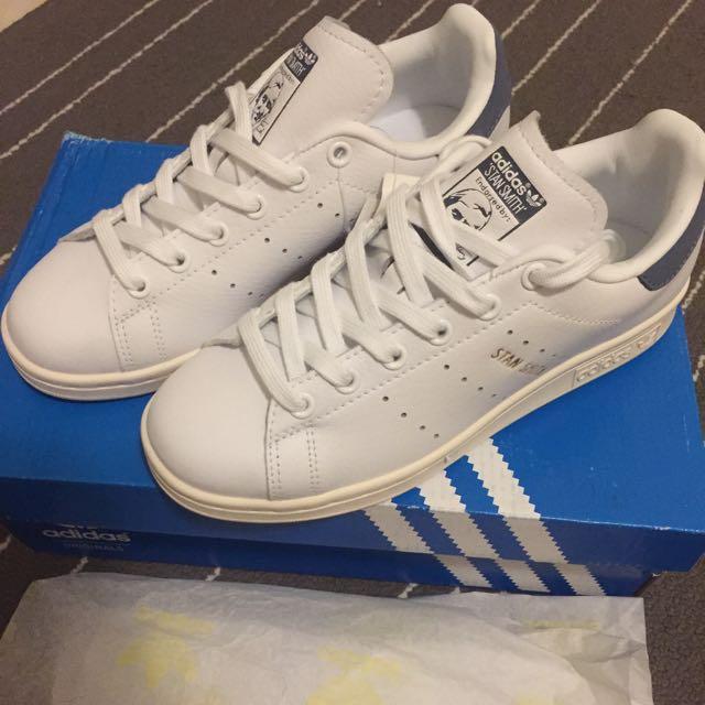 Adidas Original Stan Smith 真皮款 22.5 全新