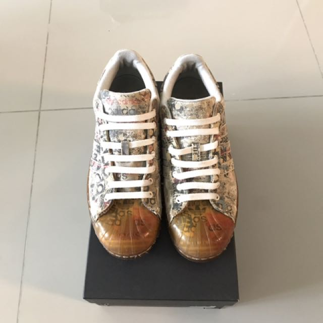 adidas superstar le scarpe (vintage originali), uomini