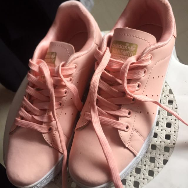 f0c5b7973 ... promo code adidas stan smith pastel pink womens fashion shoes on  carousell dbb0d 5fa89 ...
