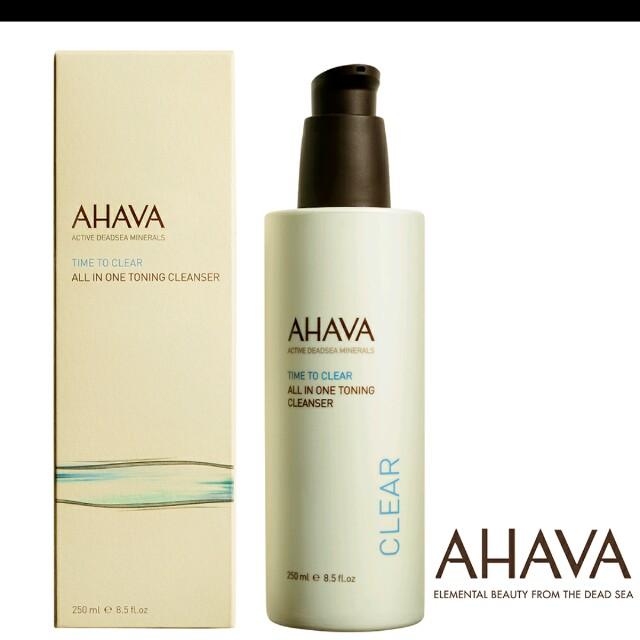 *死海頂級保養*AHAVA 礦淨全效卸妝乳250ml