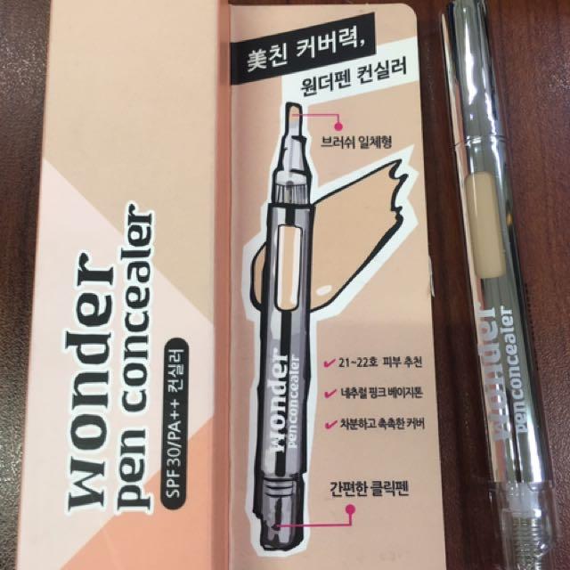AIDA Cosmetic Wonder Pen Concealer #1.5 Pink Beige