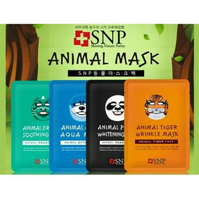 Animal mask SNP Korea