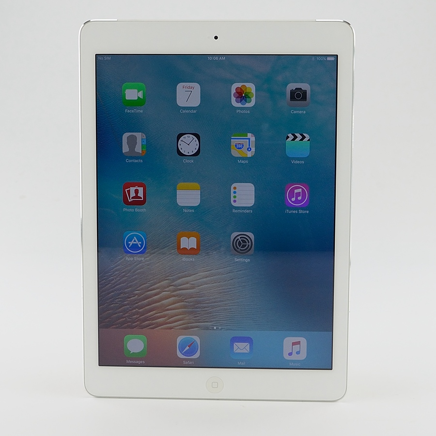 "Refurbished Apple iPad Air 1st gen 32GB WiFi+Cellular 9.7"" Retina White UNLOCKED GRADE A Warranty"