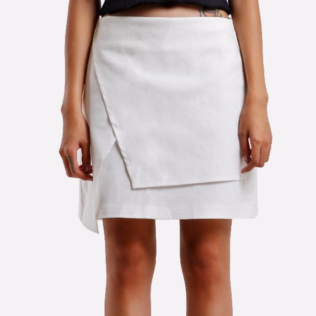 Asymmetric Skirt L