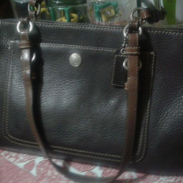 Authentic COACH leather handbag