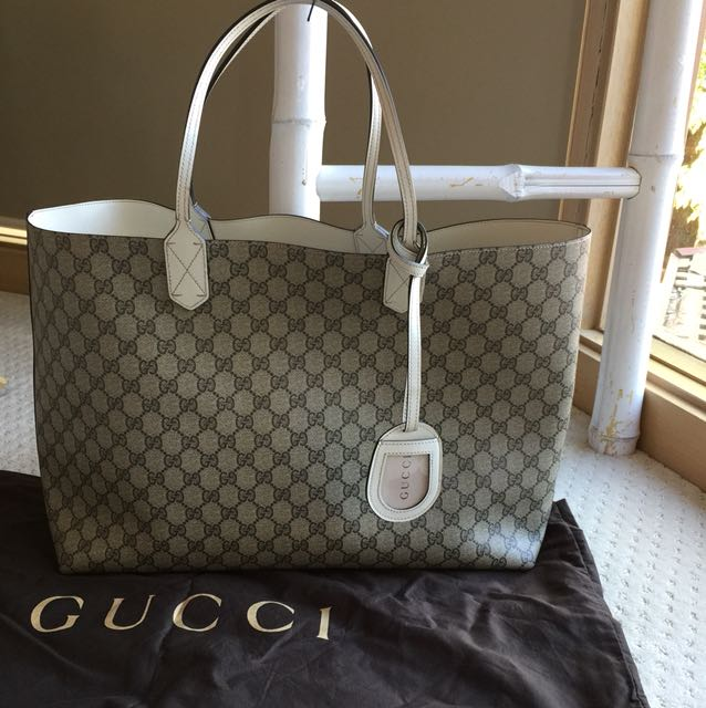 Authentic GUCCI Reversible neverfull Tote shopper As New
