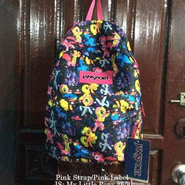 Authentic Jansport My Little Pony Design