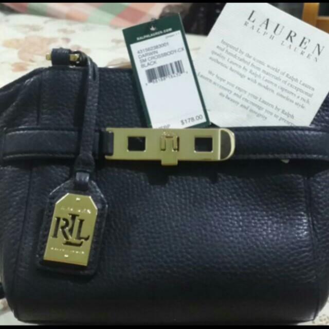 Authentic Lauren Ralph Lauren Crossbody Bag/Sling Bag