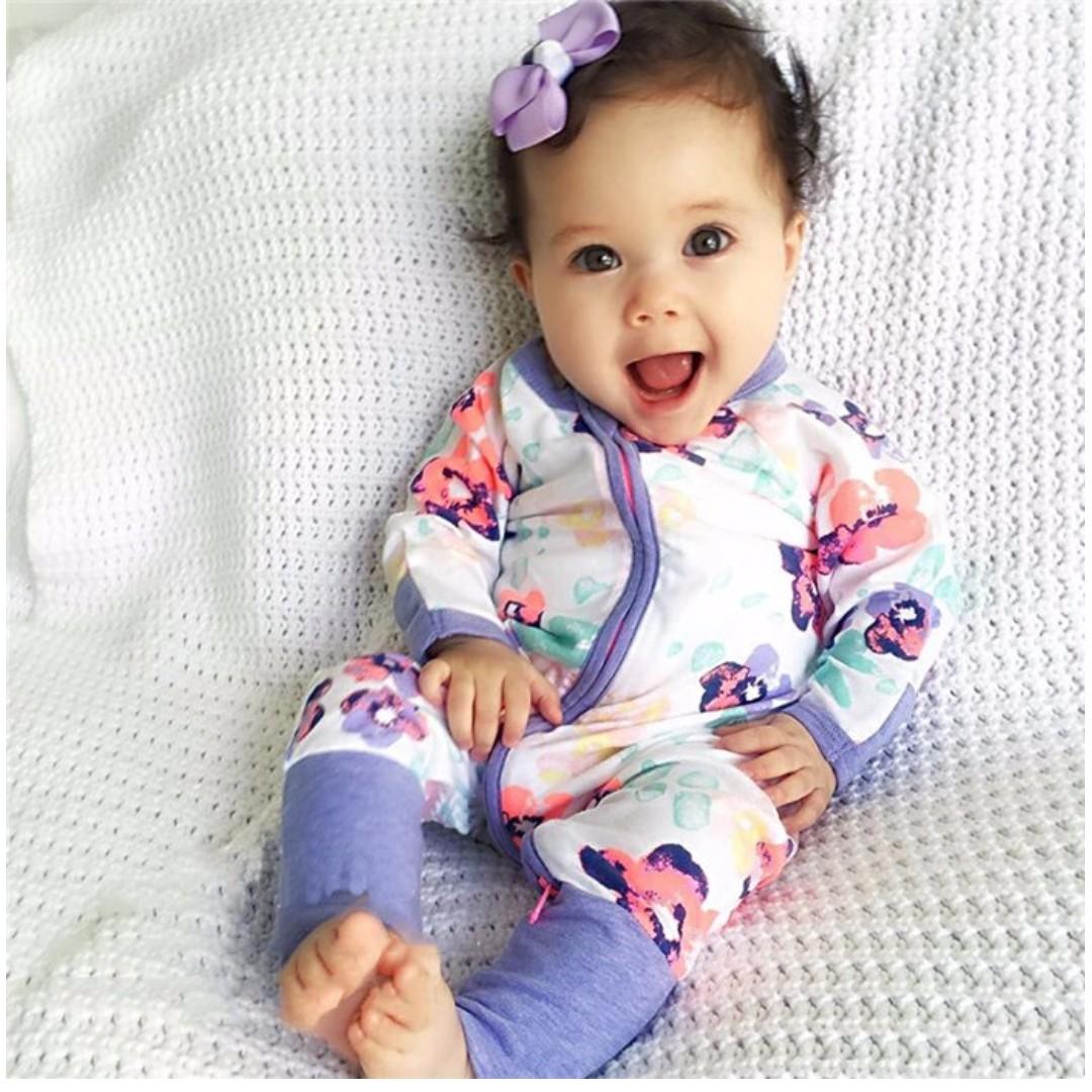 61114cea11e9 BABY AND KIDS JUMPER INSPIRED BONDS (BEAUTIFUL FLOWERS), Bayi &  Kanak-kanak, Pakaian dan Aksesori Bayi di Carousell