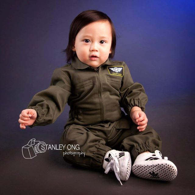 Baby boy costume Airforce Pilot