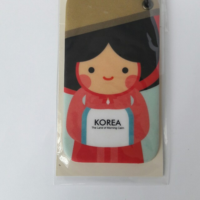 Bagtag made in Korea