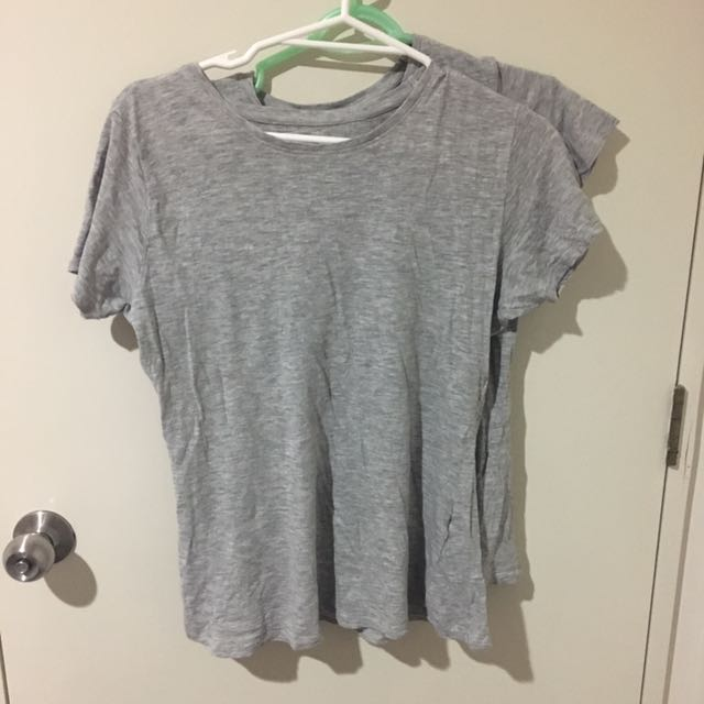 Basic grey shirts