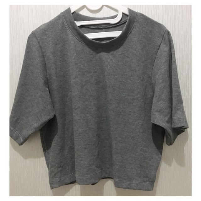 Basic Top Grey