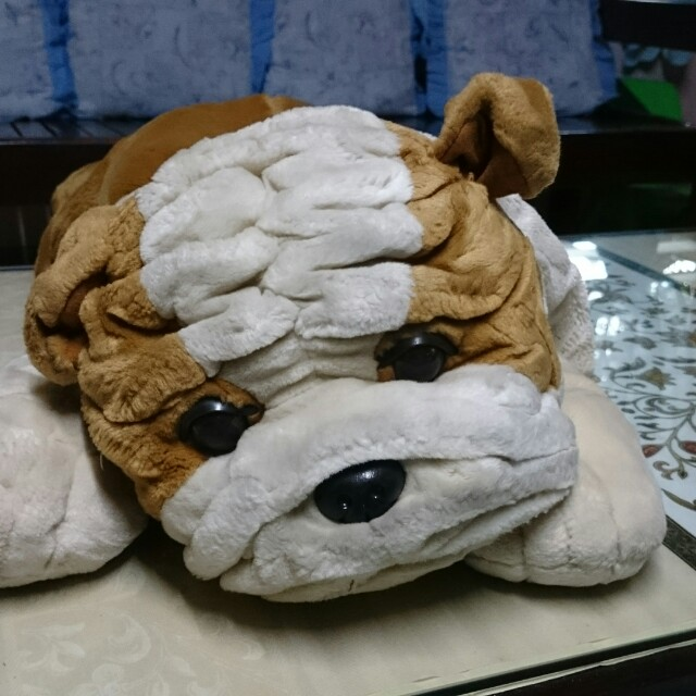 Bedside bulldog stuff toy