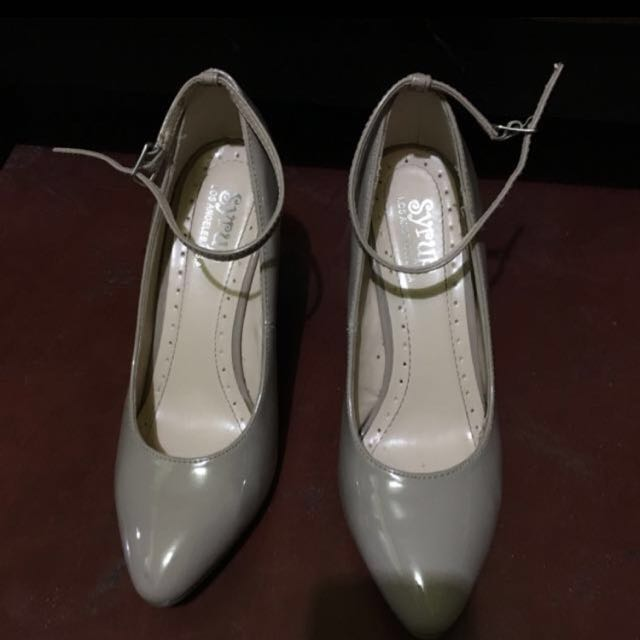 Beige Wedge Shoes