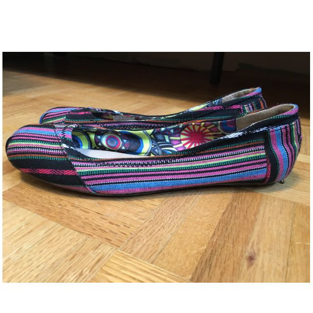 Bobs Colourful Flats