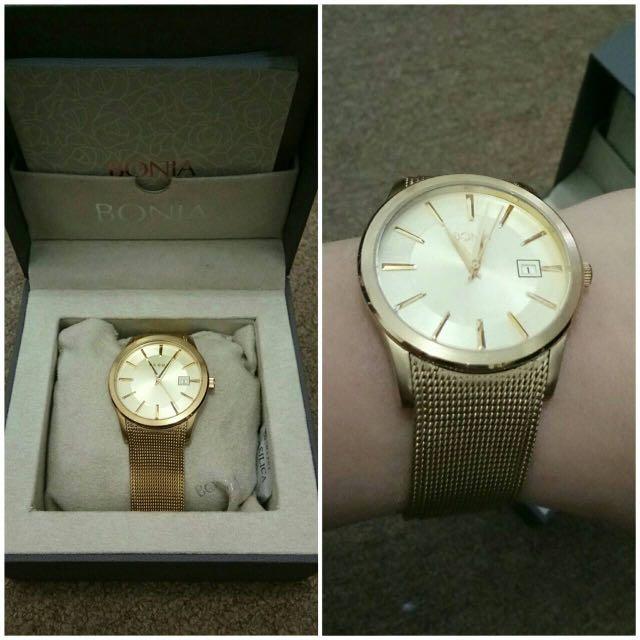 Bonia watch ( jam bonia ) authentic